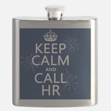 Keep Calm and Call HR Flask