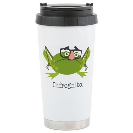 Infrognito Stainless Steel Travel Mug