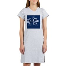 Keep Calm and Call HR Women's Nightshirt