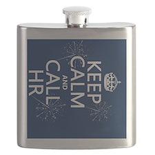 Keep Calm and Call HR Flask