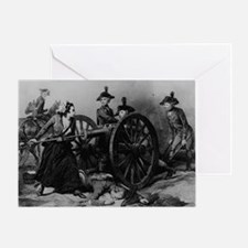 molly pitcher Greeting Card
