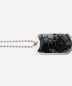 molly pitcher Dog Tags