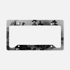 molly pitcher License Plate Holder