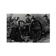 molly pitcher Rectangle Magnet