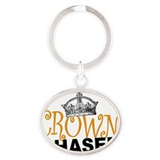 Crown Chaser Oval Keychain