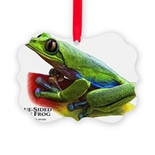 Blue-Sided Tree Frog Ornament