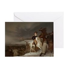 washington at delaware Greeting Card