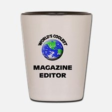 World's Coolest Magazine Features Edito Shot Glass