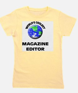 World's Coolest Magazine Features Edito Girl's Tee