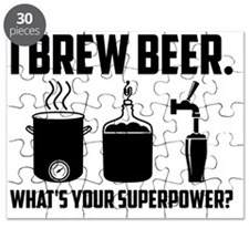 I Brew Beer.  What's Your Superpower? Puzzle