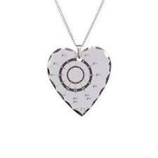 Circle of Fifths 7x7_Print Necklace Heart Charm