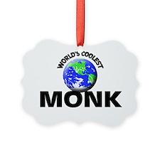 World's Coolest Monk Ornament