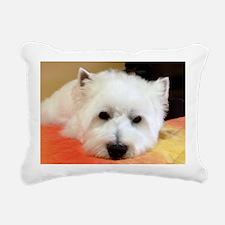 What a long day! Rectangular Canvas Pillow