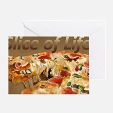 Slice of Life Greeting Card