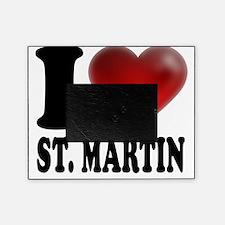 I Heart Saint Martin Picture Frame