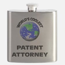 World's Coolest Patent Attorney Flask