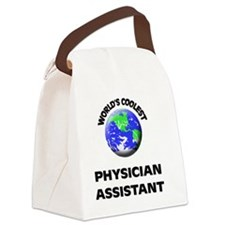 World's Coolest Physician Assista Canvas Lunch Bag