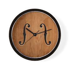 f-hole-713-BUT Wall Clock