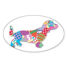 Skittles the Dachshund Decal