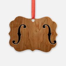 f-hole-713-OVHAT Ornament