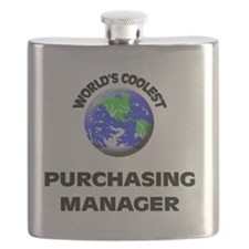World's Coolest Purchasing Manager Flask
