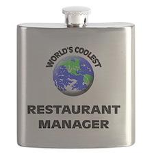 World's Coolest Restaurant Manager Flask