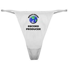 World's Coolest Record Producer Classic Thong