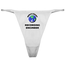 World's Coolest Recording Engineer Classic Thong