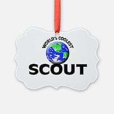 World's Coolest Scout Ornament