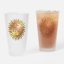 Jesuits Seal Drinking Glass