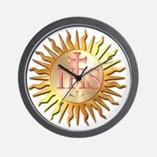 Jesuits Seal Wall Clock