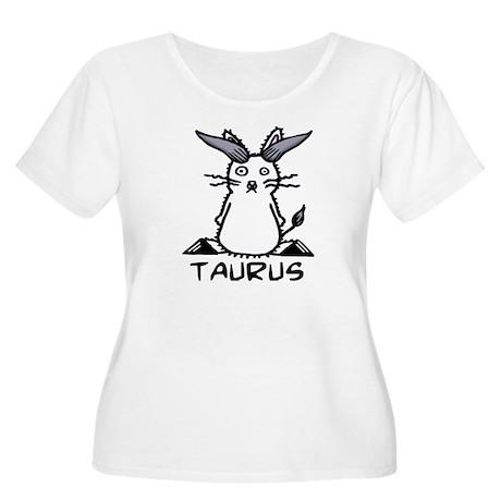 Taurus Women's Plus Size Scoop Neck T-Shirt