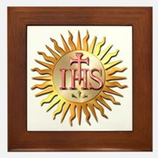 Jesuits Seal Framed Tile