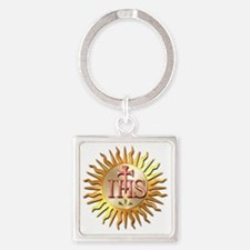 Jesuits Seal Square Keychain