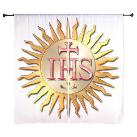 "Jesuits Seal 60"" Curtains"