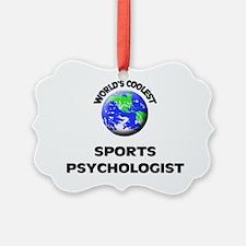 World's Coolest Sports Psychologi Ornament