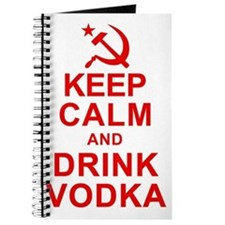 Keep Calm and Drink Vodka Journal