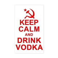 Keep Calm and Drink Vodka Decal