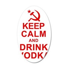 Keep Calm and Drink Vodka Wall Decal