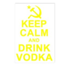Keep Calm and Drink Vodka Postcards (Package of 8)