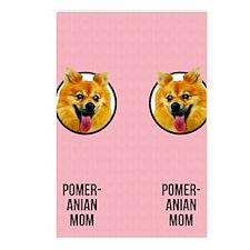 Pomeranian Mom Postcards (Package of 8)