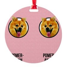 Pomeranian Mom Ornament