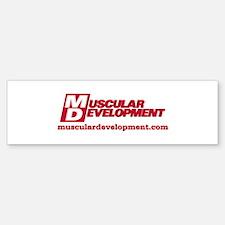 MD Logo Bumper Bumper Bumper Sticker