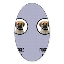 Puggle Dad Decal