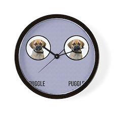 Puggle Dad Wall Clock