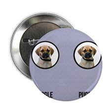 "Puggle Dad 2.25"" Button"