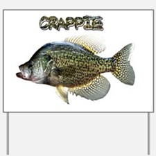 Crappie Yard Sign