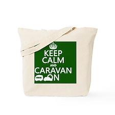 Keep Calm and Caravan On Tote Bag