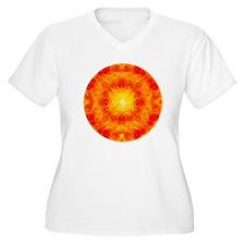 orange mandala T-Shirt