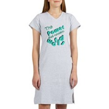 Power That Creates Worlds Women's Nightshirt